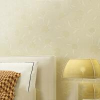T墙纸卧室壁纸温馨浪漫 简约现代田园壁纸无纺布客厅 情人节礼物 仅墙纸