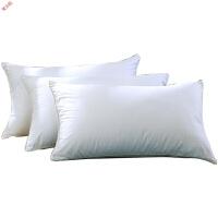 新品家纺床上用品五星级酒店枕头枕芯单人低枕 一对拍2定制