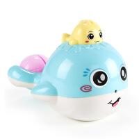 儿童玩具水枪女孩3-5-6岁7小孩男宝宝浴室洗澡戏水枪男童喷水互动 喷水小鲸鱼(袋装)