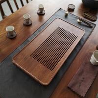 日式竹制茶盘储水抽屉式简约排水茶台小家用重竹茶海功夫茶具套装