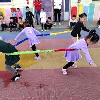 东南西北跑儿童运动户外玩具体育器械体智能幼儿园感统训练器材 周长2米(3人)