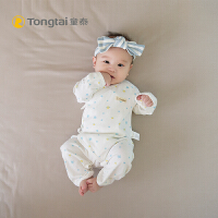 0-3-6个月爬服棉春夏装婴儿衣服连体衣宝宝蝴蝶哈衣
