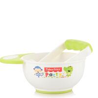 费雪 宝宝辅食研磨器300ML婴儿食物研磨碗 手动果泥宝宝研磨碗 手动副食小碗