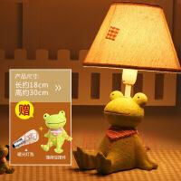 【好货】创意田园可爱台灯卧室温馨床头灯动物卡通可调节暖光小夜灯儿童房
