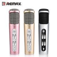 Remax睿量K02手机唱吧直播麦克风 全民K歌主播专用话筒 苹果/安卓通用手机直播 KTV效果