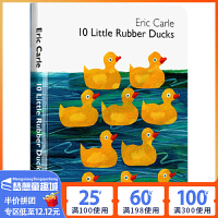 10 Little Rubber Ducks 十只小橡皮鸭子 英文原版绘本0 3岁 Eric Carle 艾瑞卡尔爷爷