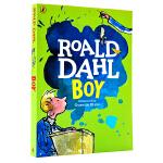 进口英文原版 Roald Dahl:Boy 新版 罗尔德达尔趣味青少年读物获奖文学小说