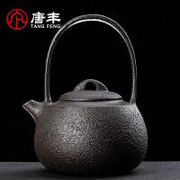 唐丰复古简约铸铁壶家用办公大容量烧水壶单壶煮水器老铁壶