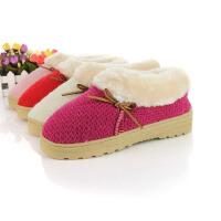 棉拖鞋冬季保暖拖鞋情侣拖鞋家居平底舒适全包跟加厚拖鞋