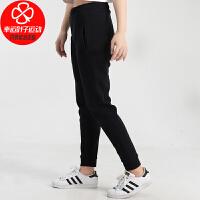 Adidas/阿迪达斯女裤新款运动裤跑步训练健身小脚裤子舒适透气针织休闲长裤GJ8061