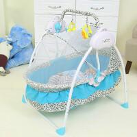婴儿摇椅婴儿床摇床智能自动可折叠宝宝婴儿摇篮床新生儿带蚊帐摇摇床zf13