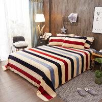 冬季珊瑚绒毯子 珊瑚绒冬季床单单件法兰绒被单加厚双人毛绒床毯冬天床上铺的毛毯定制