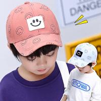 3-5-8岁男童棒球帽薄款遮阳帽女宝宝鸭舌帽儿童帽子潮