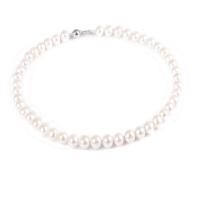 梦克拉 珍珠项链 白色恋人 8-9mm 珍珠项链 女 可礼品卡购买
