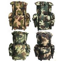 07迷彩背囊携行具 军迷特种兵80升户外战术背包丛林迷彩