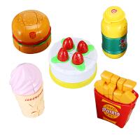 食物变形金刚变形机器人玩具男孩手动儿童玩具3-5岁汉堡变形