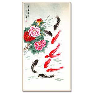 中国美术家协会会员、北京工笔重彩画会会员 耿玉轩《富贵呈祥》