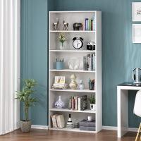 马六甲简易书架置物落地简约实木客厅多层儿童小书柜桌面收纳柜学