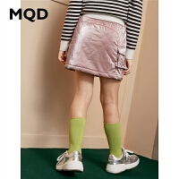 【1件3折:144】MQD童装女童夹棉加厚半身裙2019冬季新款儿童韩版百搭保暖半身裙