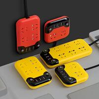 智能带USB插座插排桌面创意多用排插家用拖线板长线多功能插线板