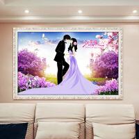 2019新品结婚点钻石十字绣新款客厅卧室钻石画满钻婚庆系列钻石绣砖石情侣