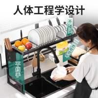 厨房水槽置物架台面多功能放碗架洗碗池沥水架水池上碗碟收纳架子