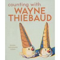 Counting with Wayne Thiebaud苏珊的艺术启蒙课:和韦恩-第伯一起计数 ISBN9780811