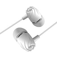 R6螺旋式3.5接口金属线控有线耳机 带麦