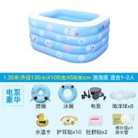 20181113041654133婴儿游泳池宝宝家用水池保温加厚新生儿婴幼儿童充气游泳桶