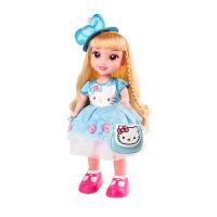 儿童玩具HelloKitty喜之宝智能洋娃娃喜儿公主会说话仿真对话女孩玩具套装 【旗舰版】喜儿遥控答题娃娃 (蓝色)