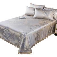 南极人冰丝凉席可水洗折叠三件套1.8m床1.5米2.0可机洗夏季床裙款