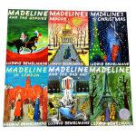 顺丰包邮 Madeline 玛德琳5本套装 廖彩杏推荐英文原版绘本 美国百本必读书籍Madeline in Londo