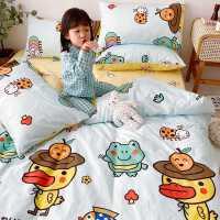 卡通床上四件套全棉纯棉可爱少女床单被套儿童床上用品4三件套ins