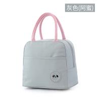 饭盒包手提午餐铝箔加厚手拎便当包饭盒袋便当盒带饭帆布保温袋子