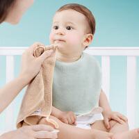 儿童小方巾婴儿用品婴儿毛巾口水巾比纱布棉柔软宝宝洗脸巾
