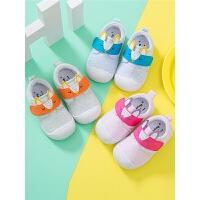 0一1-2-3岁男女宝宝鞋子软底鞋运动鞋学步鞋春秋季婴幼儿童布鞋
