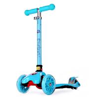 迪士尼儿童折叠滑板车可升降闪光轮2岁3-6岁4小孩摇摆车冰雪奇缘 SD13011-F蓝色冰雪奇缘 当当自营