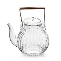 唐丰耐热玻璃壶煮茶加厚电热烧水壶家用提梁花茶壶透明功夫泡茶壶