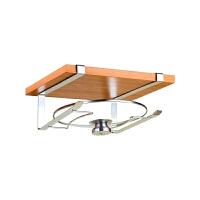 大锅盖架免打孔厨房锅盖收纳架壁挂式家用多功能放锅盖砧板的架子