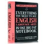 美国中学生优等生笔记英语语言艺术英文原版 Everything You Need to Ace English Lan