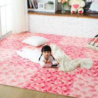 儿童卧室拼图满铺地垫家用泡沫垫子加厚宝宝拼接爬行垫防摔地板垫定制