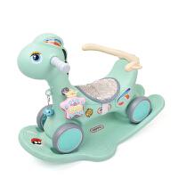 小木马两用多功能婴儿摇摇车骑马幼儿玩具摇摇马儿童