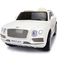 宾利正版授权儿童电动车四轮带遥控小孩玩具车可坐人宝宝摇摆汽车zf01zf01