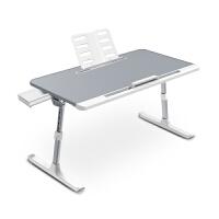 赛鲸放床上书桌可升降加高可调节高度懒人桌板在大学生宿舍上铺用的加大号写字学习笔记本电脑架可折叠小桌子