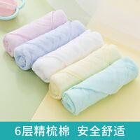 婴儿洗脸巾小毛巾方巾婴儿用品儿童手帕手绢宝宝棉纱布口水巾
