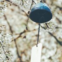 岩手南铸铁日式风铃挂饰富士山复古日本和风寺庙铃铛生日礼物