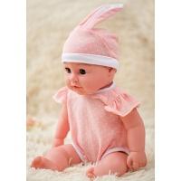 儿童仿真娃娃婴儿全软胶宝宝会说话的智能唱歌洋娃娃男孩女孩玩具 L兔子(女娃) (50CM)大号