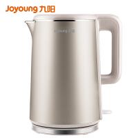 九阳(Joyoung)烧水壶电水壶双层防烫304不锈钢1.7升电热水壶K17-F10