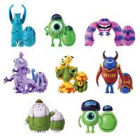 BANDAI 万代 迪士尼捣蛋总动员 怪兽大学 大眼仔 毛怪 变形动漫周边玩具