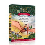 Magic Tree House Books #1-4神奇树屋合辑(1-4) ISBN 9780375813658